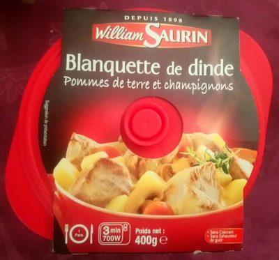 Cocotte Blanquette de Dinde pommes de terre et champignons - Produit