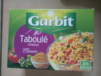 Taboule oriental - Product