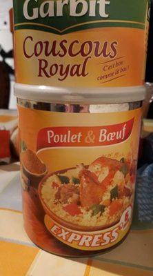 Couscous Royal Poulet & Boeuf - Produit - fr