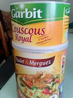 Couscous Royal poulet & merguez - Nutrition facts