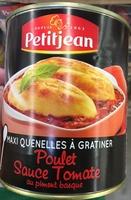 Maxi Quenelles à Gratiner (Poulet Sauce Tomate au piment basque) - Produit - fr