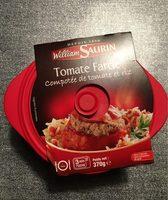 Tomate farcie - Compotée de tomate et riz - Product - fr