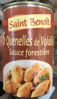 6 Quenelles de Volaille sauce forestière - Produit