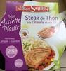 Mon Assiette Plaisir, Steak de Thon à la catalane et son riz (2,5 % MG) - Product