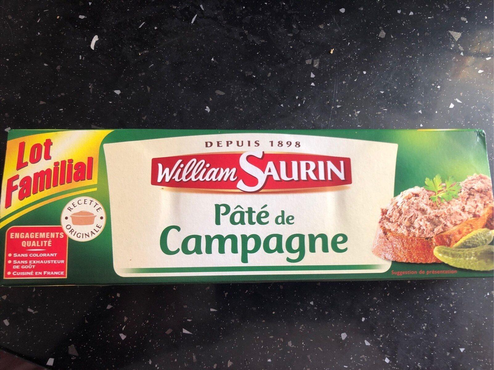 Pâté de Campagne - Product - fr