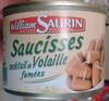 Saucisses cocktail de Volaille fumées - Product