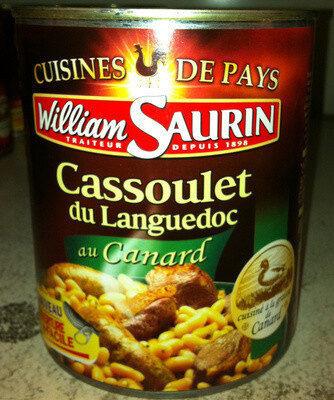 Cassoulet du Languedoc au  Canard - Cuisiné à la graisse de Canard - Produit - fr