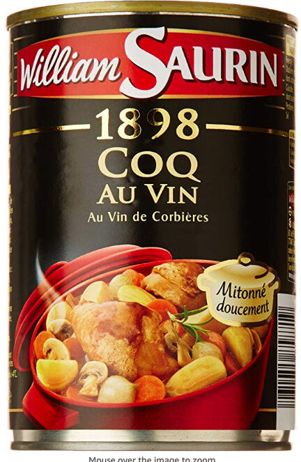 1898 coq au vin - Produit - fr