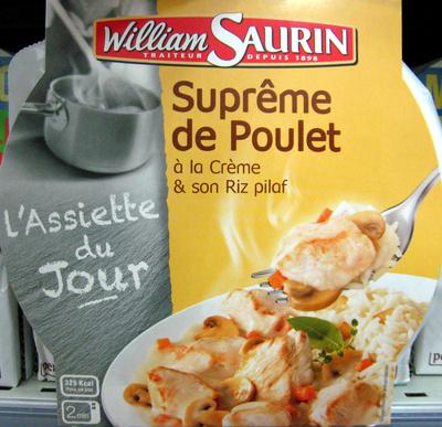 Suprême de Poulet & son Riz pilaf - Produit - fr