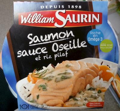 Saumon sauce Oseille et riz pilaf - Product - fr