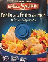 Paëlla aux fruits de mer riz et légumes - Produit - fr