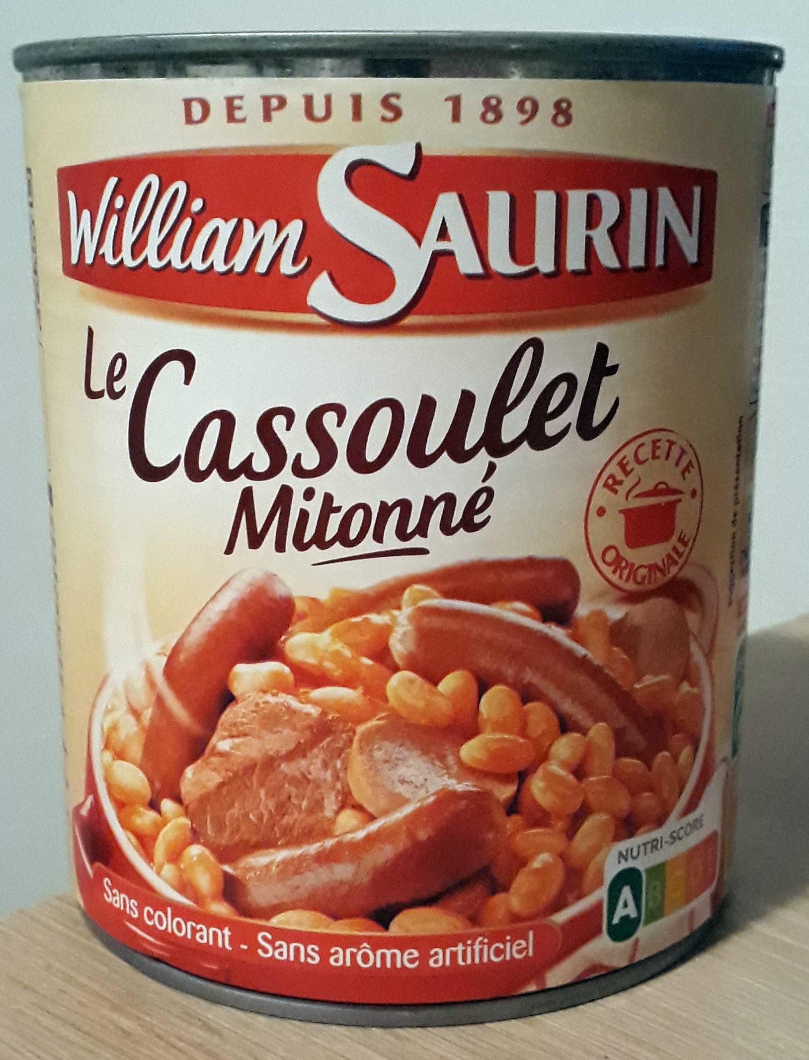 Le Cassoulet Mitonné - Produit - fr