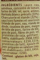 Cassoulet 420 Gr - Ingredienti