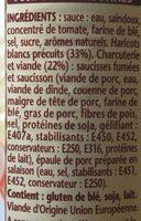 Le Cassoulet Mitonné - Ingredients