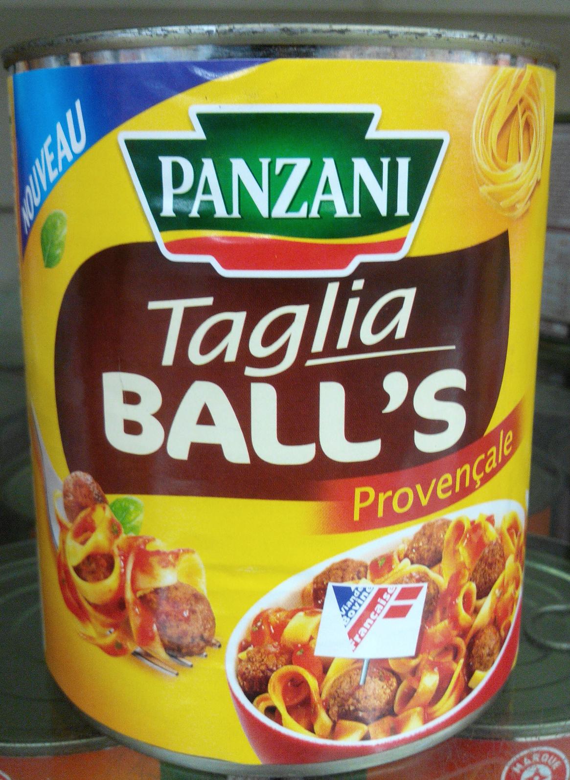 Taglia Ball's Provençale - Product - fr