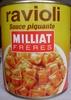 Ravioli, Sauce piquante - Produit