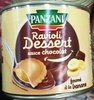 Ravioli dessert sauce chocolat fourré à la banane - Produit