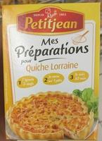 Mes Préparations pour Quiche Lorraine - Product