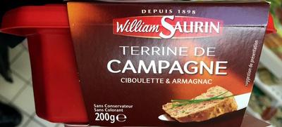 Terrine de Campagne (Ciboulette & Armagnac) - Product - fr