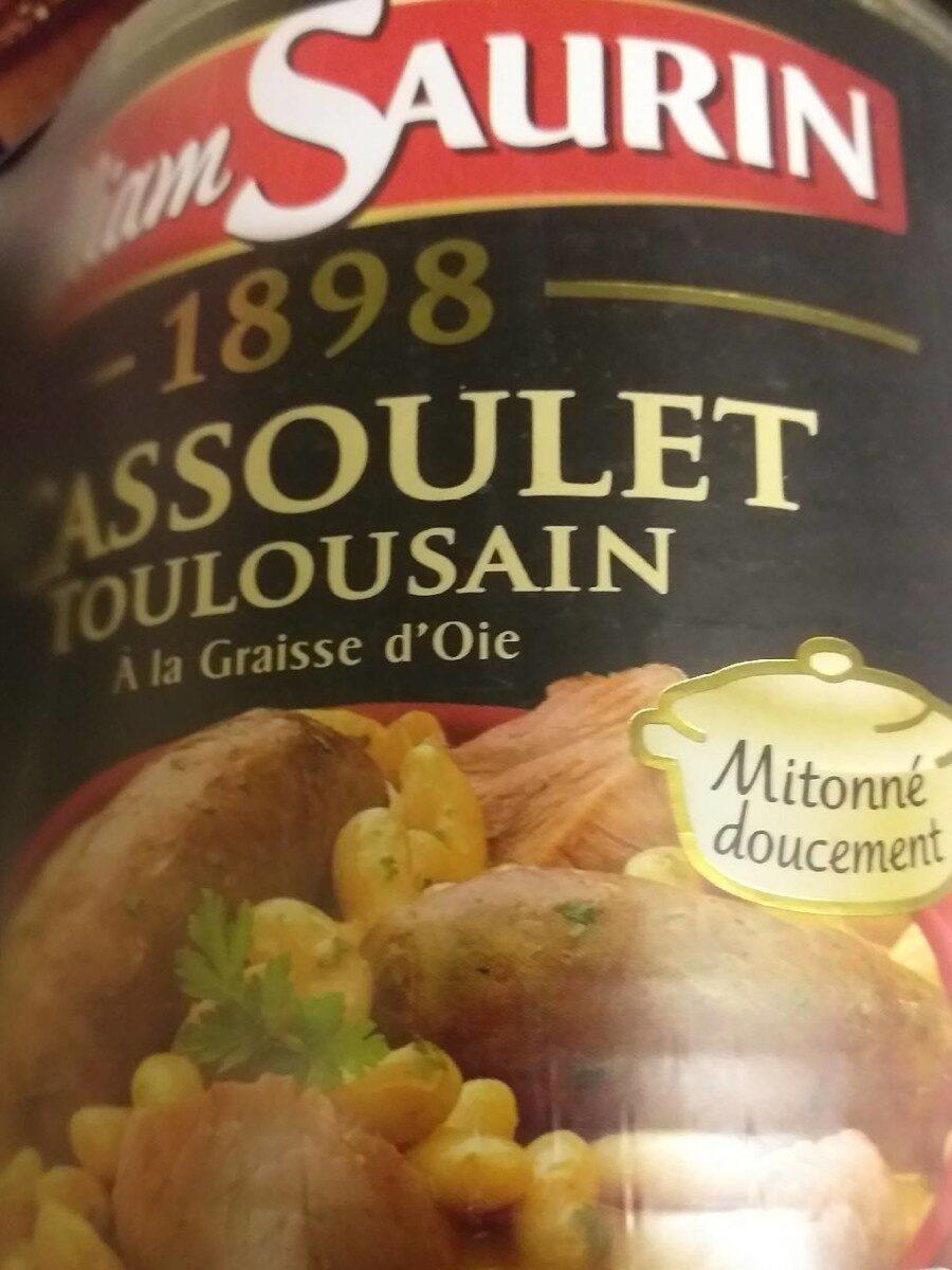 Cassoulet toulousain - Product - fr