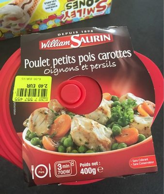 Les Cocottes Poulet Petits pois Carottes - Product