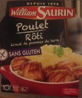 Poulet Rôti Et Pommes De Terre William Saurin - Product