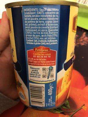 6 quenelles de brochet sauce nantua - 3