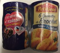 6 quenelles de brochet sauce nantua - Produit
