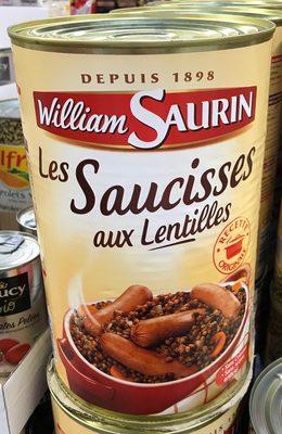 Les Saucisses aux Lentilles - Produit - fr