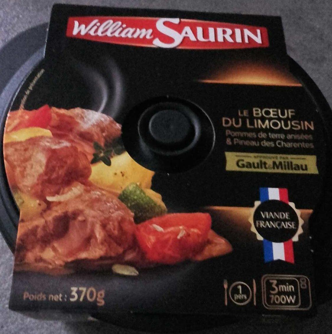 Le Bœuf du Limousin, Pommes de Terre Anisées & Pineau des Charentes - Produit - fr