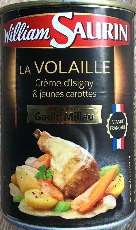 Volaille à la Crème d'Isigny et jeunes carottes - Produit