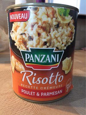 Risotto poulet parmesan - Produit