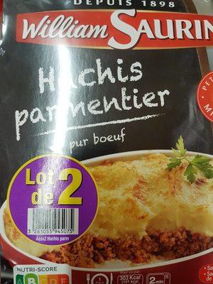 hachis parmentier - Product - fr