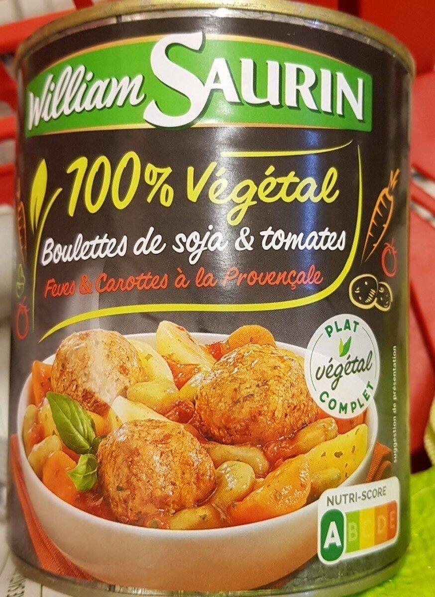 Boulettes de soja et tomates - Produit - fr