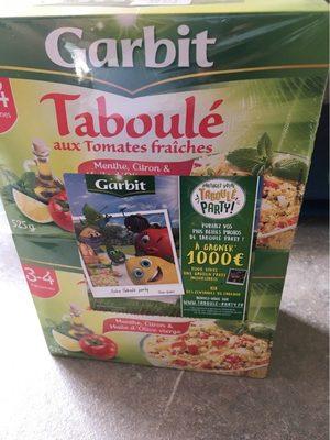 Garbit taboule aux tomates fraiches - Produit