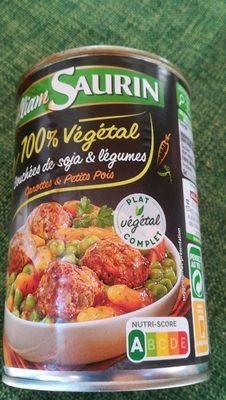 Bouchées de soja et légumes - Product