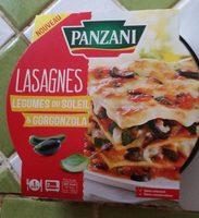 Lasagnes légumes du soleil et gorgonzola - Produit - fr