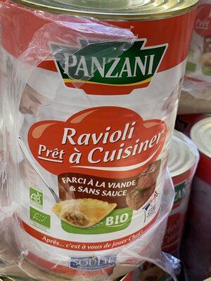 Ravioli prêt à cuisiner farci à la viande & sans sauce - Produit - fr