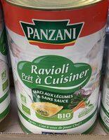 Ravioli prêt à cuisiner farci aux légumes & sans sauces - Produit - fr