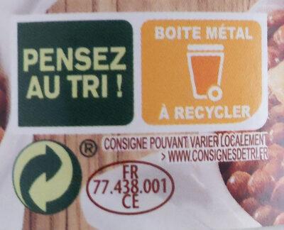 Bio saucisses aux lentilles - Recyclinginstructies en / of verpakkingsinformatie - fr