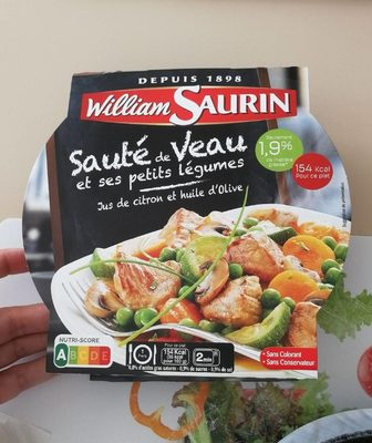 Sauté de Veau et ses petits légumes - Produit - fr