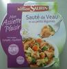 Sauté de Veau et ses petits légumes (2,4% MG) - Product