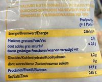 Frutti Di Mare - Informations nutritionnelles