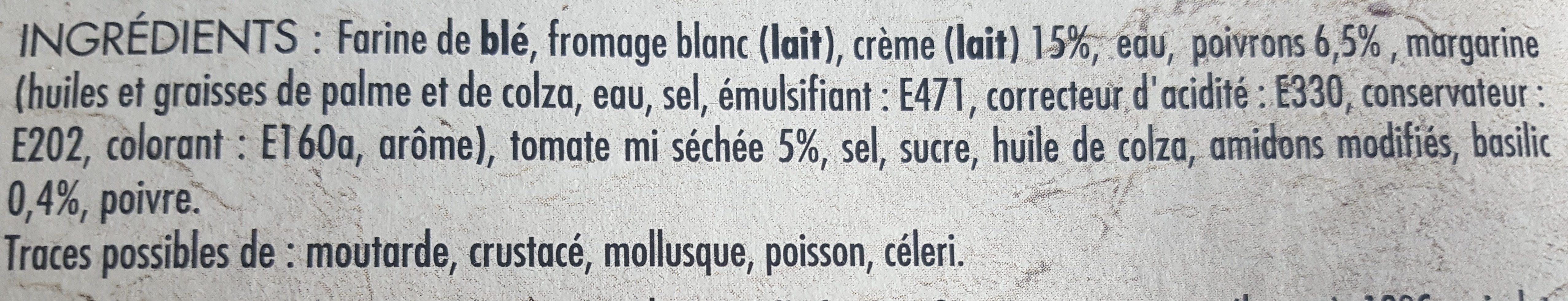 Apéritif aux légumes du soleil - Ingrediënten - fr