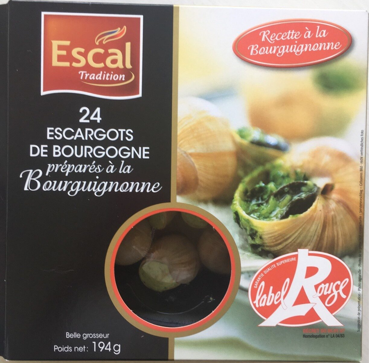 Escargots de bourgogne - Product - fr