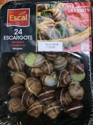Escargot préparés - Product