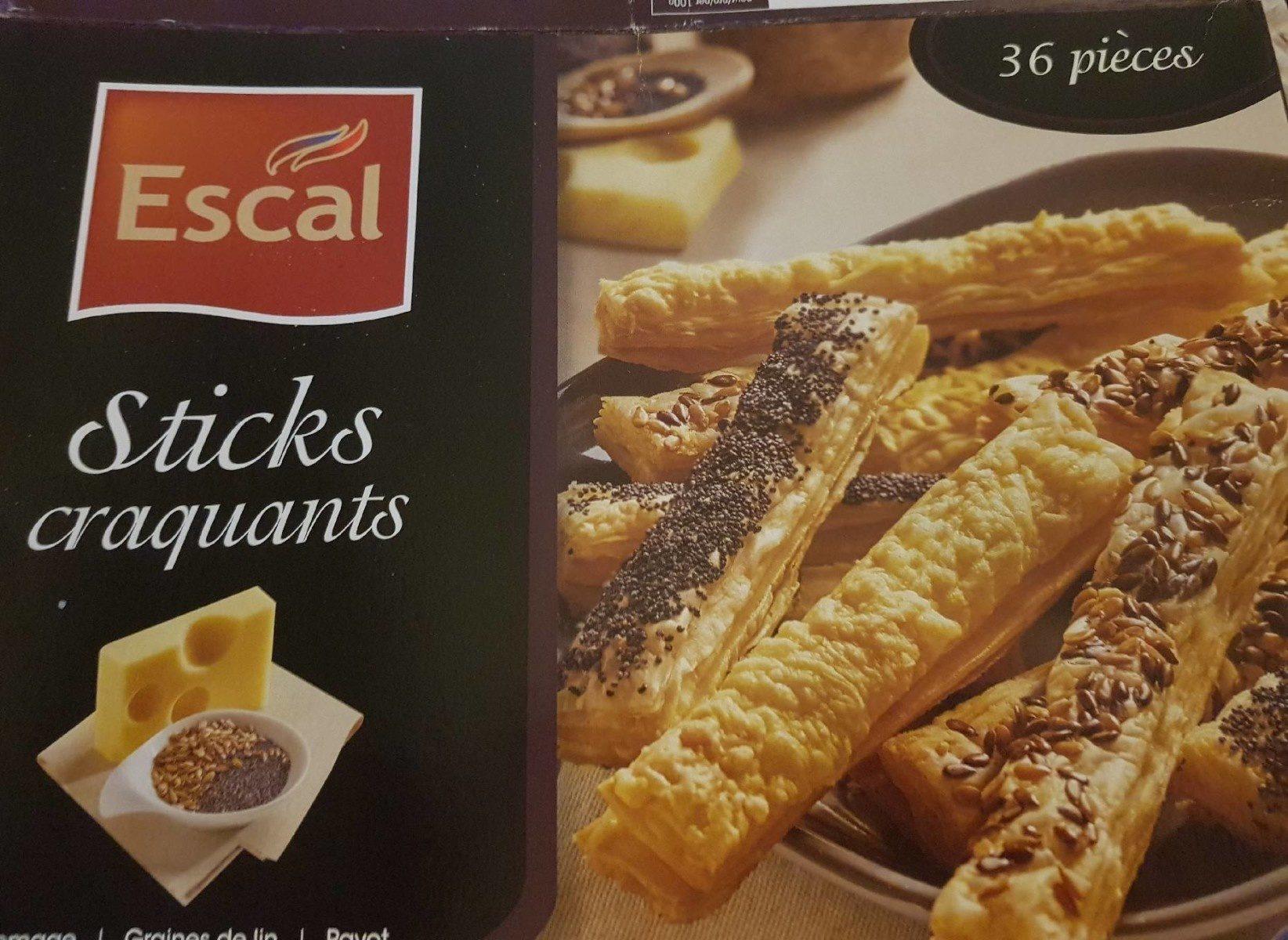 Sticks craquants - Product - fr