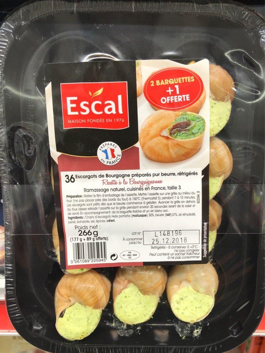 Escargots de bourgogne - Product - fr