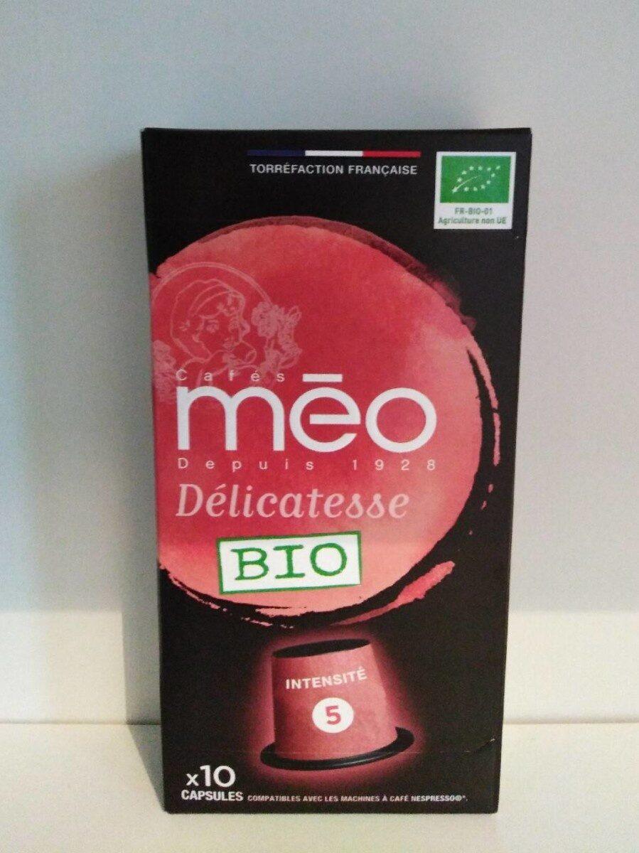 Café méo capsules hermétiques délicatesse x10 - Produit