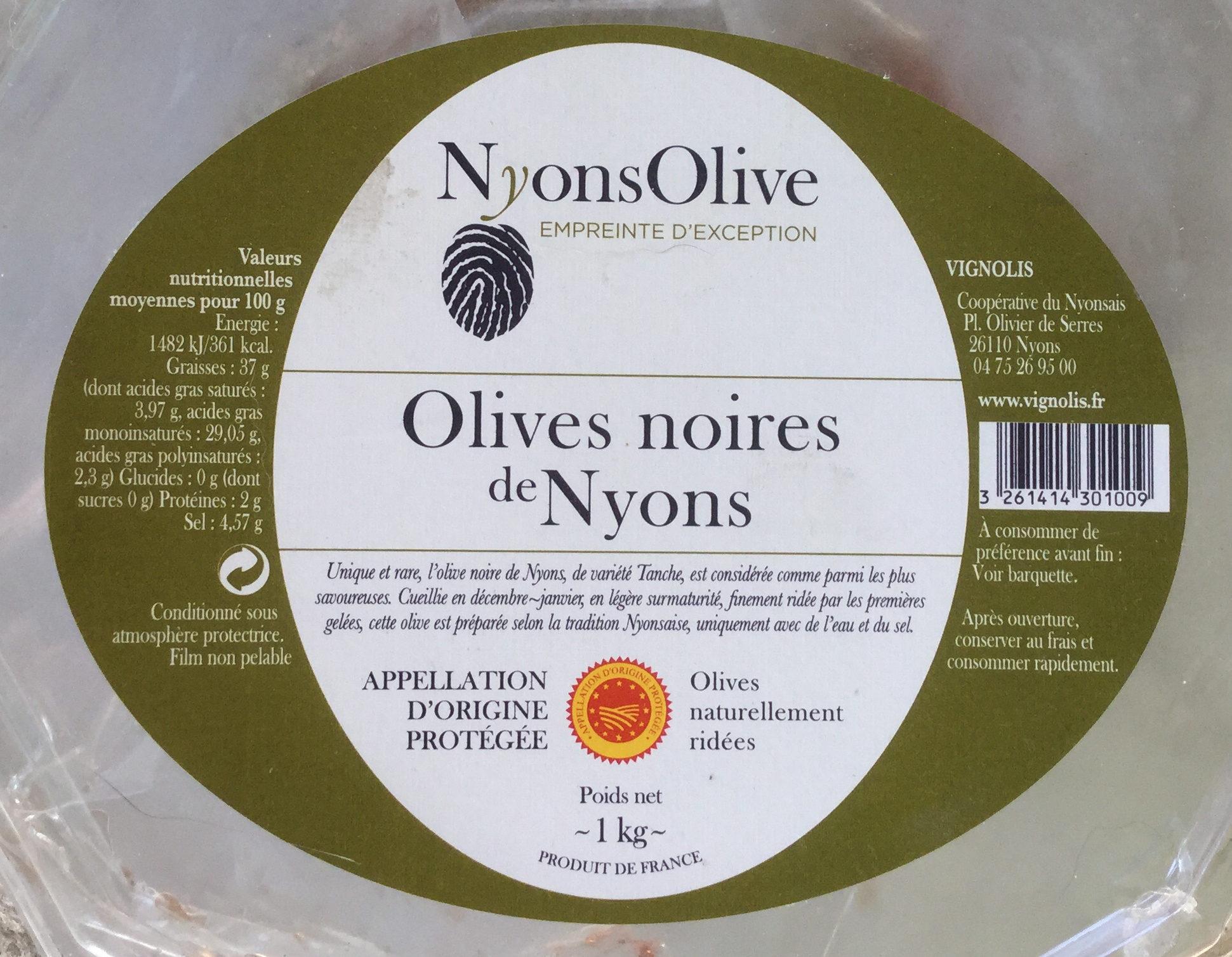 Olives noires de Nyons - Produit - fr
